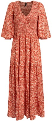 Y.A.S Damask Dress, Chilli