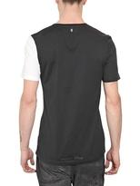 Neil Barrett Half Mickey Print Jersey T-Shirt