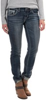 Rock & Roll Cowgirl Distressed Skinny Jeans - Low Rise (For Women)