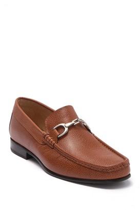 Donald J Pliner Darrin Leather Bit Loafer