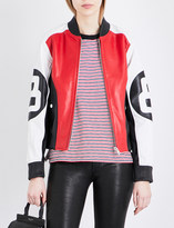 Rag & Bone Morgan leather bomber jacket
