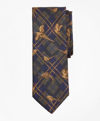 Brooks Brothers Plaid Pheasant Tie