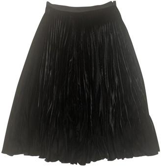 Vanessa Bruno Black Velvet Skirt for Women