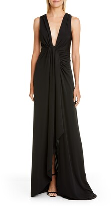 Cinq à Sept Sylvia Black Evening Gown