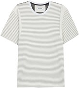 Tim Coppens Pierced Contrast-panelled Cotton T-shirt