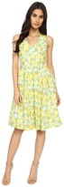 Brigitte Bailey Lucy Lemon Printed Dress