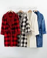 Martha Stewart Collection ClLOSEOUT! Martha Stewart Collection Plush Robe