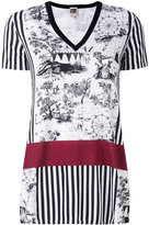 I'M Isola Marras printed v-neck T-shirt