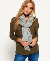 Superdry Solid Capital Fringe Scarf
