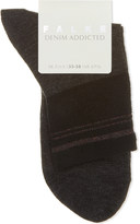 Falke Ladies Casual Denim Addicted Cotton-Blend Socks