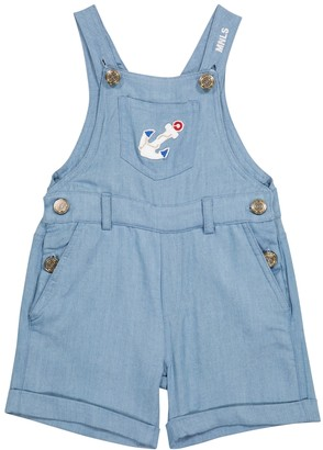 MonnaLisa Embroidered dungarees
