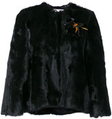 Lanvin cropped fur jacket