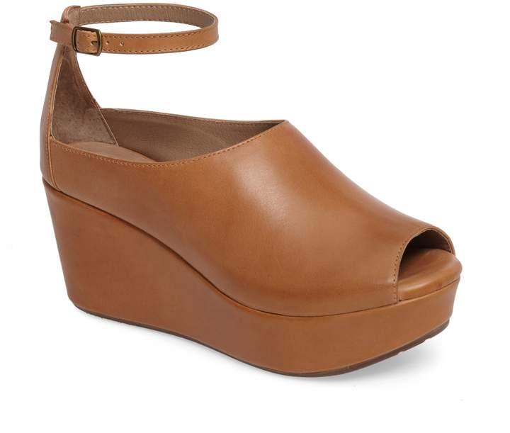 Chocolat Blu Walter Ankle Strap Wedge Sandal