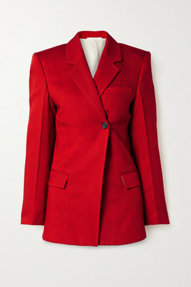 Peter Do - Woven Blazer - Red