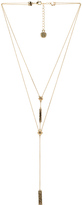 House Of Harlow The Lyra Double Y Necklace