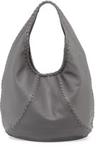 Bottega Veneta Cervo Large Hobo Bag, New Light Gray
