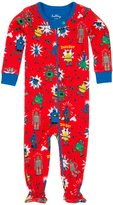 Hatley Footed Coverall (Baby) - Robots-18-24 Months