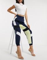 Asos Design DESIGN woven mix color block jogger