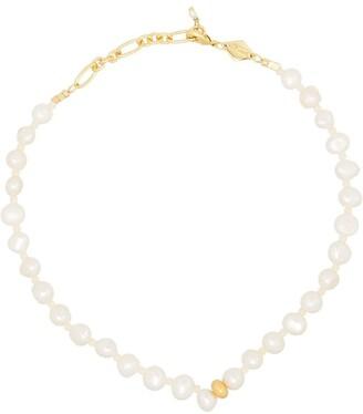 Anni Lu Stellar pearl-beaded anklet