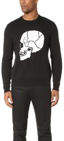The Kooples Skull Jacquard Sweater
