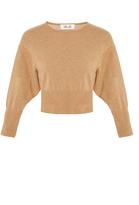 Diane von Furstenberg Long Sleeve Crew Neck Sweater