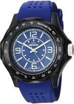 Seapro Men's SP4111 Dynamic Analog Display Quartz Blue Watch