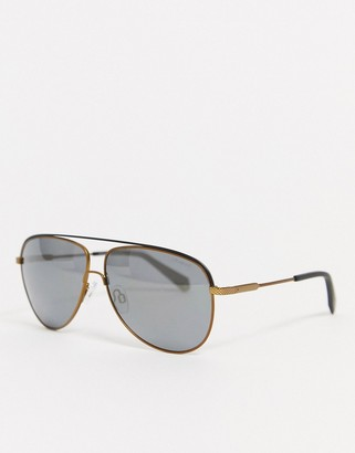 Polaroid aviator style sunglasses