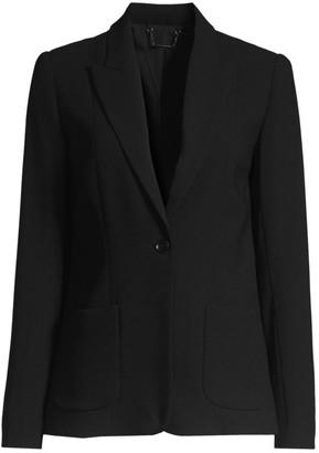 Elie Tahari Wendy Fluid Crepe Jacket