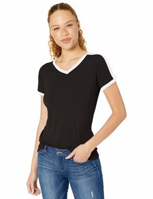 AquaGuard Women's Soccer Ringer Fine Jersey T-Shirt