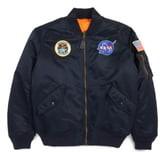 Alpha Industries MA-1 Nasa Flight Reversible Jacket
