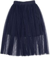 Paade Stretch Tulle Long Skirt