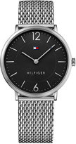 Tommy Hilfiger Men's Slim Sophisticated Sport Stainless Steel Mesh Bracelet Watch 40mm 1710355