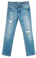 7 For All Mankind Boy's Distressed Slimmy Jeans
