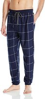 Kenneth Cole New York Men's Window Plaid Banded Flannel Pant