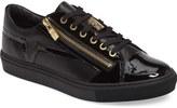 Versace Side Zip Low Top Sneaker (Men)