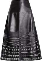 Escada Sport Leather skirt black