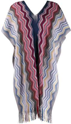 Missoni embroidered oversized top