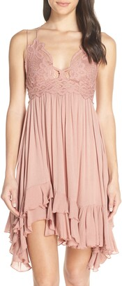 Free People Intimately FP Adella Frilled Chemise