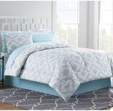 Bed Bath & Beyond Chandra Comforter Set in Light Grey