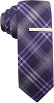 Alfani Men's Mars Plaid Skinny Tie, Only at Macy's