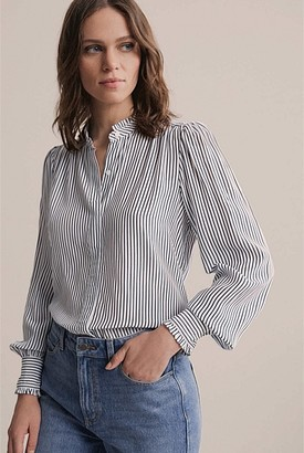 Witchery Frill Neck Shirt