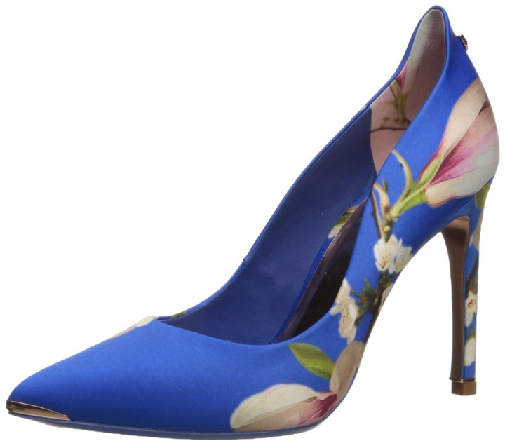 Ted Baker Womens melnip Pump 8.5 M US Dark Blue