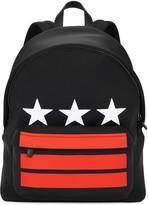 Givenchy Black Star-print Neoprene Backpack
