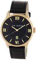 Ted Baker Men's Dress Sport Leather Watch