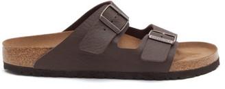 Birkenstock Arizona Faux Leather Sandals - Mens - Brown