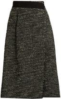 Marc Jacobs Bouclé tweed wool-blend skirt