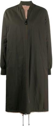 Yves Salomon Reversible Woven Coat