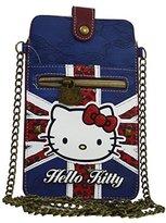 Hello Kitty England Wallet Purse Card ID Photos Holder Coin Movil Slim