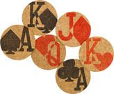 Impulse Purchase Gamblers Charm Cork Coasters