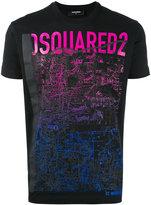 DSQUARED2 mountain print t-shirt - men - Cotton - M